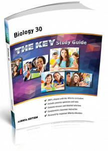 Cover image for The Key Study Guide Biology 30 Alberta
