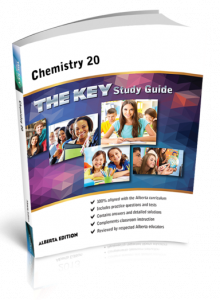 Cover image for THE KEY Study Guide: Alberta Chemistry 20