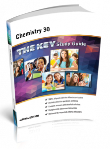 Cover image for THE KEY Study Guide: Alberta Chemistry 30