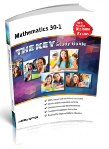 Cover image for THE KEY Study Guide: Alberta Mathematics 30-1
