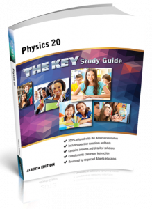 Cover image for THE KEY Study Guide: Alberta Physics 20