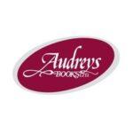 A logo for Audreys Books