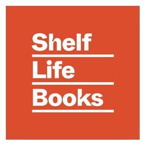 A logo for Shelf Life Books.