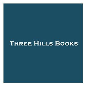 A logo for Three Hills Books