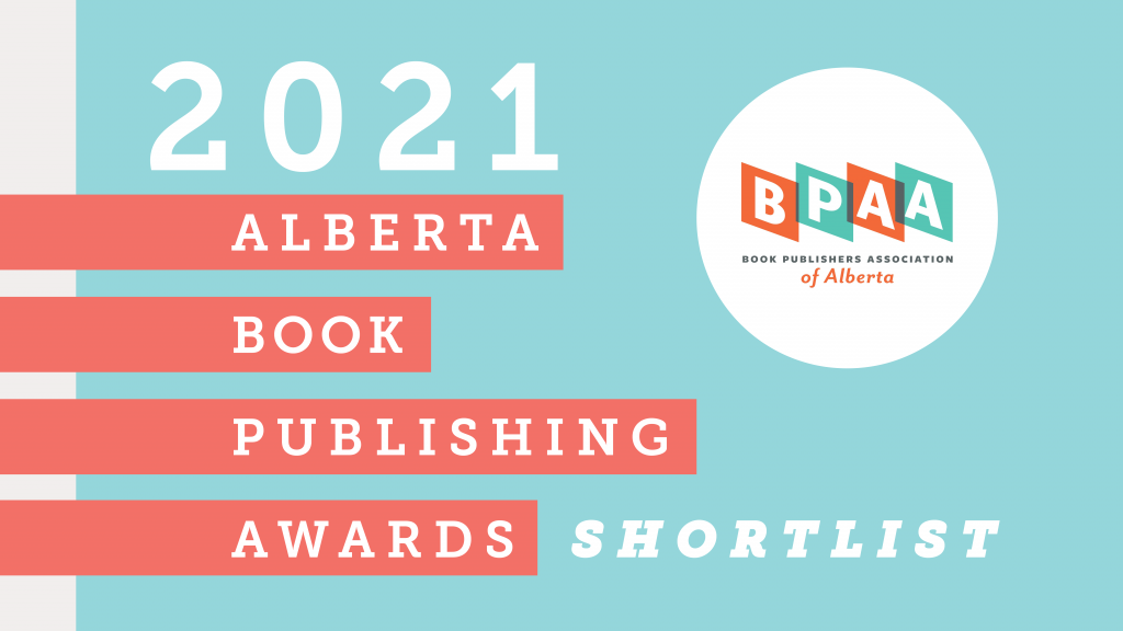 Feature image for the 2021 Alberta Book Publishing Awards Shortlist