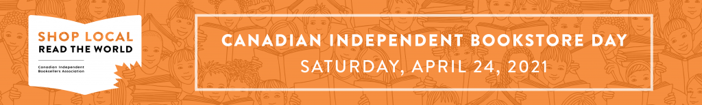 Logo for Canadian Independent Bookstore Day