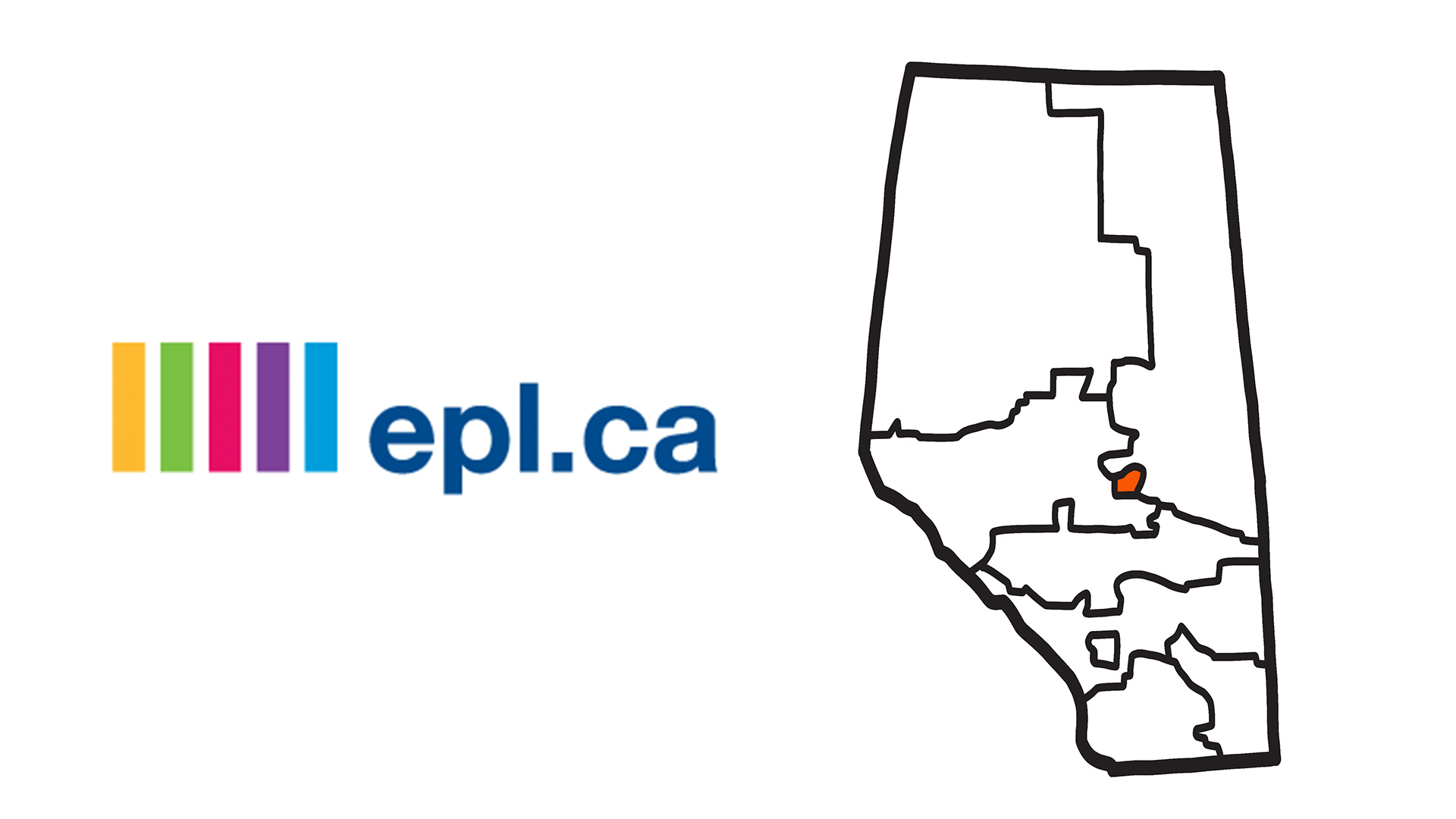 Edmonton Public Library System and Map