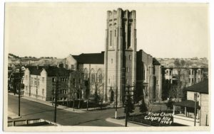 Photo: Conference meetings took place at Knox United Church, pictured here in the 1920s.