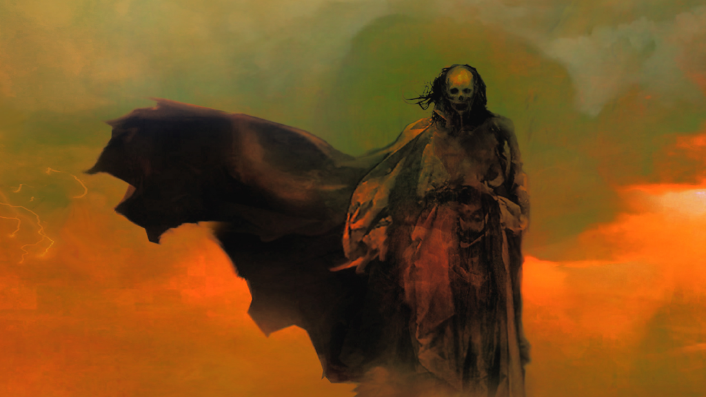 Concept art from ROTH by Richard Van Camp