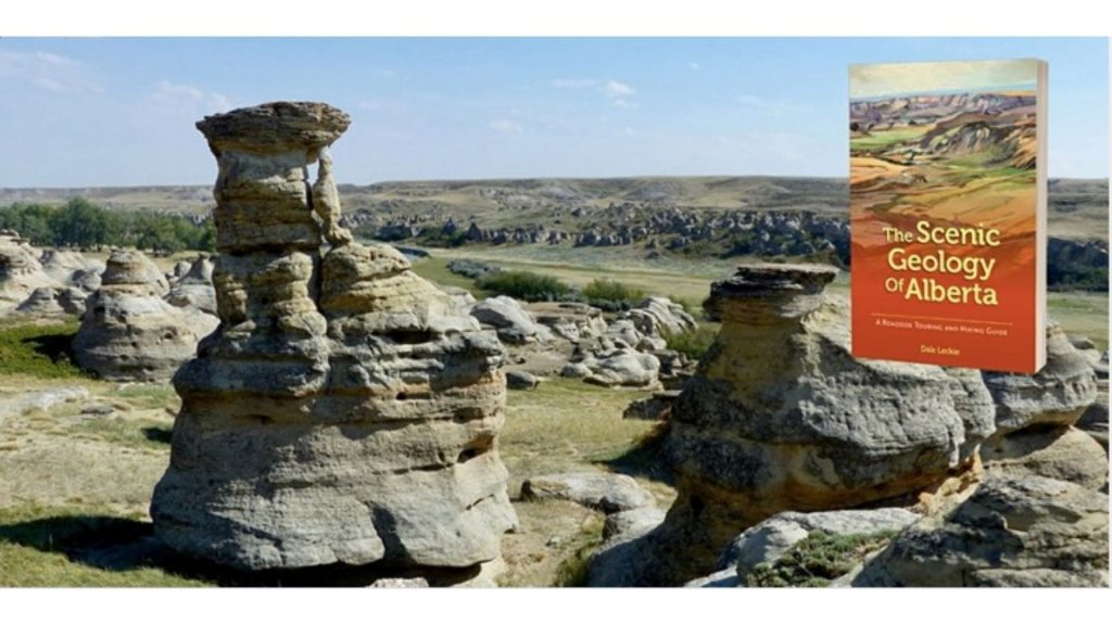 The event image for scenic geography of Alberta, showing hoodoos.