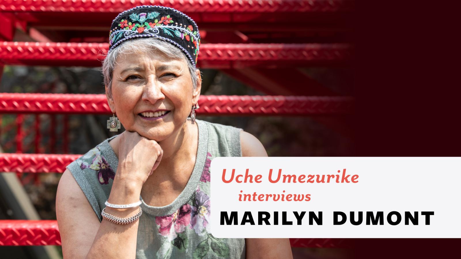 Author photo of Marilyn Dumont