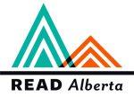 A logo for Read Alberta