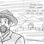 drawing from Howdy, I'm John Ware