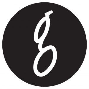 A logo for Glass Bookshop