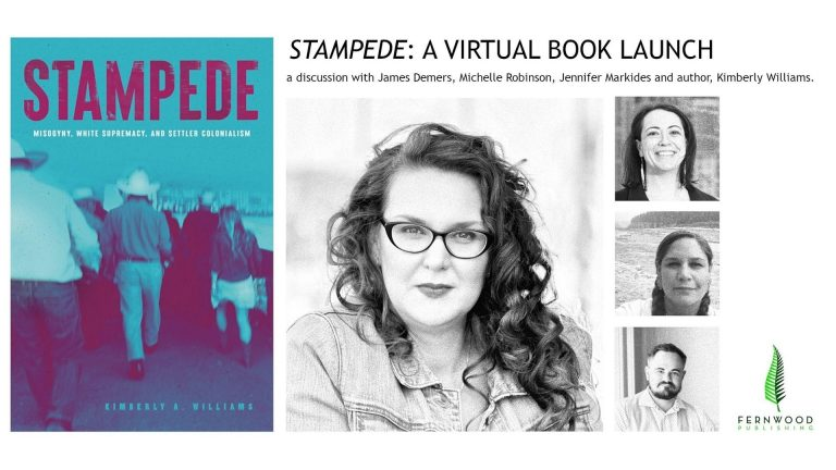 Launch image for Stampede at Shelf Life Books.